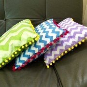Chevron cushions/pillows