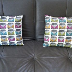 Pair of Camper van cushions