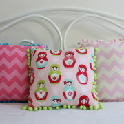 Children mini cushions